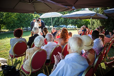 73 74 ceremonie laique chambery chateau de candie faverges franco americain haute savoie mariage - Chateau De Candie Mariage